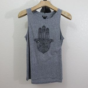 Lucky Brand Gray Tank Top